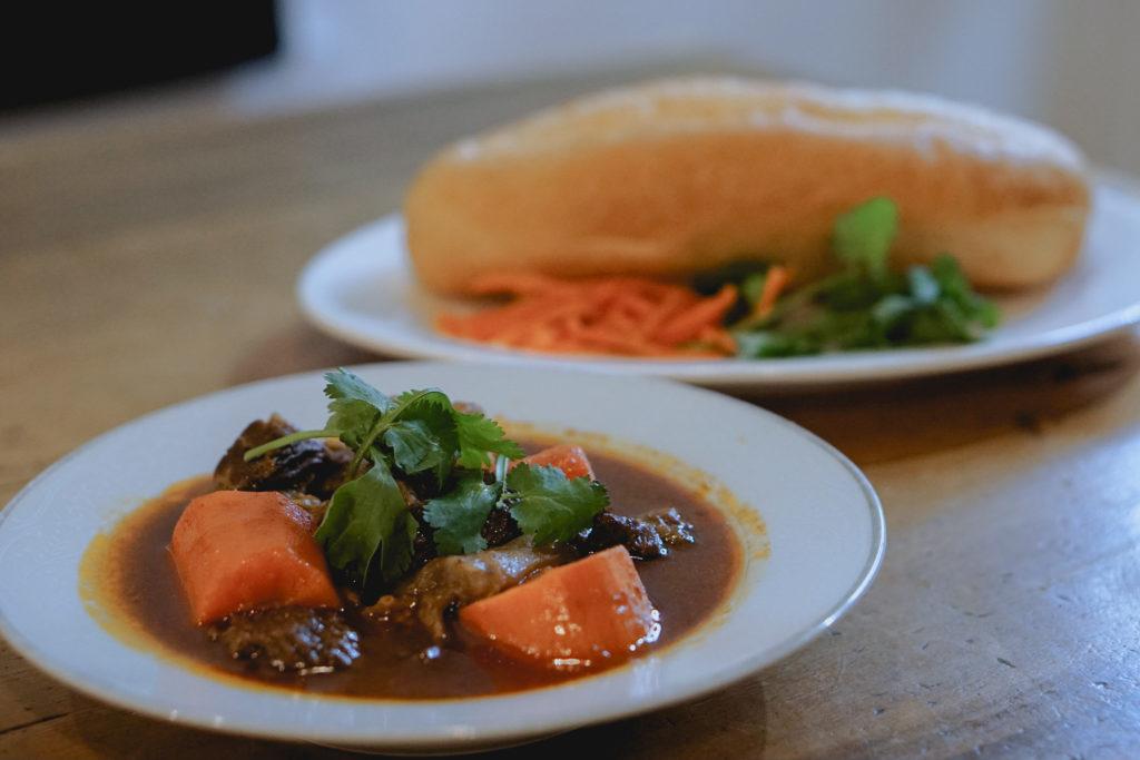 Beef Stew Banh Mi